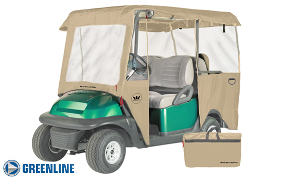 Lifted Golf Cart Enclosures | Outdoor Cover Warehouse
