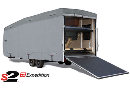 S2 Expedition Toy Hauler RV Cover